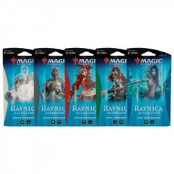 Magic The Gathering Ravnica Allegiance Theme Booster Set 5-Pack 5-Pack Ravnica Allegiance Theme Magic The Gathering 449,00 kr