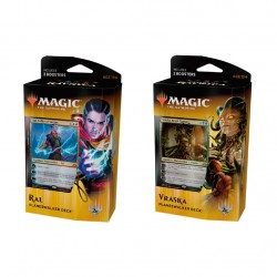 MTG: GUILDS OF RAVNICA Planeswalker RAL and VRASKA 2-Pack Card