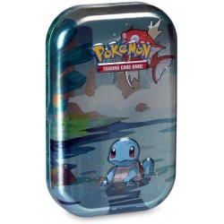 Pokémon TCG: Kanto Friends Mini Tin Box- Squirtle