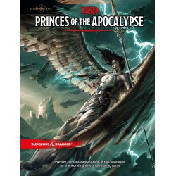 Dungeons & Dragons RPG - Princes of the Apocalypse D&D BOOK Princes Of Apocalypse 9 D&D Dungeons & Dragons 629,00 kr