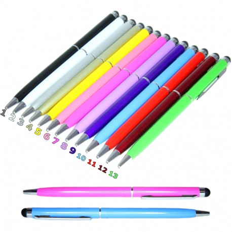 2in1 Universal Capacitive Touch Stylus Pen/Ink Pen iPad/iPhone/Android