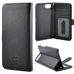TOPPEN Left Handed Wallet Case iPhone 6/7/8 Black