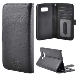 TOPPEN Left Handed Wallet Case Samsung Galaxy S8 Plus, Black