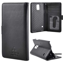 TOPPEN Left Handed Wallet Case Samsung Galaxy S5, Black