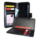 TOPPEN 2in1 Wallet Case & Card Holder Samsung Galaxy S8 Black