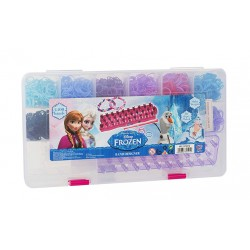 Disney Frozen Loom Band Case Kit 2400 Pcs With Accessories