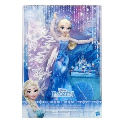 Disney Frozen Winter Dreams Deluxe Elsa Doll Dukke 30cm