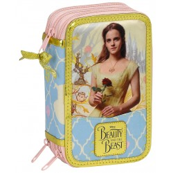 Disney Princess Belle 36-delt Triple Filled Penny Case School Set