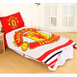 Manchester United Påslakanset Bäddset 135x200 + 50x75cm White MANCHESTER UNITED 399,00 kr product_reduction_percent