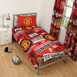 Manchester United Pussilakanasetti Bed linen 135x200 + 50x75cm