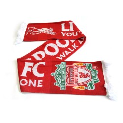 Liverpool FC Established Huivi Jacquard Scarf 135x19cm