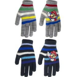 2-Pairs Super Mario Gloves Children Mittens One Size
