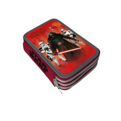 Star Wars Triple Skolset Pen Box Pennset med 43 dele