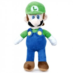 Super Mario Luigi Soft Plush 35cm