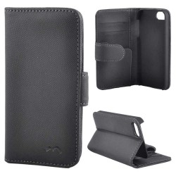Deluxe Wallet Folio Case iPhone 5 / 5s / SE High Quality Black