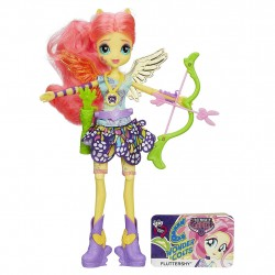 My Little Pony Equestria Girls Fluttershy Sporty Style Archery Doll