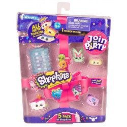 Shopkins Series 7 Mini Figures 5-Pack