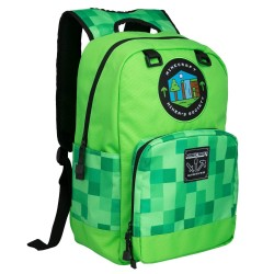 Minecraft Miner's Society Backpack School Bag 42x30x14cm