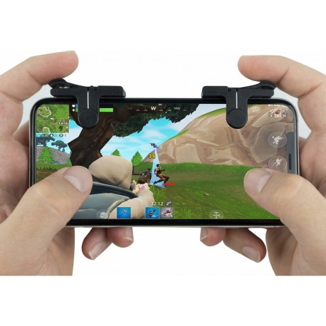 1 Par Fortnite/PUBG Mobil Kontroll För iPhone/Android L1R1 Shooter SVART/RÖD GL 149,00 kr product_reduction_percent