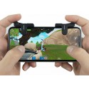1 Par Fortnite/PUBG Mobil Kontroll För iPhone/Android L1R1 Shooter