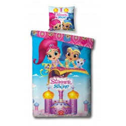 Shimmer and Shine Double Bed linen Duvet Cover 140x200+65x65cm