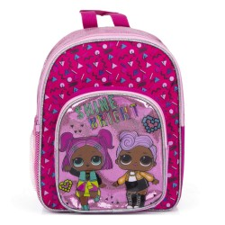 L.O.L. Surprise LOL Shine Bright Glitter Mini Backpack School Bag 30x24x11cm