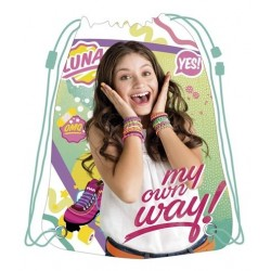 Soy Luna My Own Way Gympapåse Barnväska 44x33cm Soy Luna Gymbag WD11381 Disney Soy Luna 149,00 kr product_reduction_percent