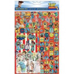 Toy Story Mega Stickers Pack 150pcs Fun Foiled Re-usable
