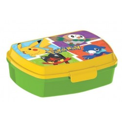 Pokemon Food Box Green / Yellow