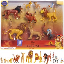The Lion King Deluxe Figure Set 10pcs Multi Pack Playset