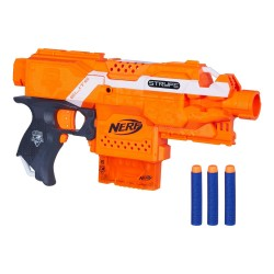 Nerf N-Strike Elite Stryfe Motorized Blasting Toy Weapon Nerf N-Strike Elite Stryfe A0200 NERF 379,00 kr