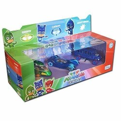 PJ Masks Die-cast Hero Vehicles 3-Pack Gekko, Catboy & Night Ninja