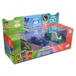 PJ Masks Die-cast Hero Vehicles 3-Pack Gekko, Catboy & Romeo