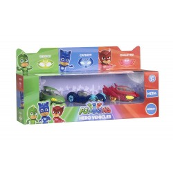PJ Masks Die-cast Hero Vehicles 3-Pack Gekko, Catboy & Owlette