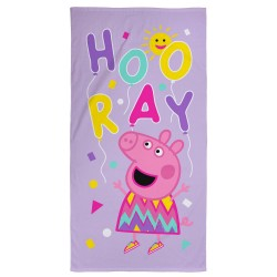Peppa Pig Balloons Kids Towel 140x70cm 100% Cotton