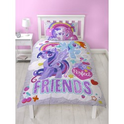My Little Pony Unicorn Crush Bed linen Duvet Cover 135x200 + 48x74cm