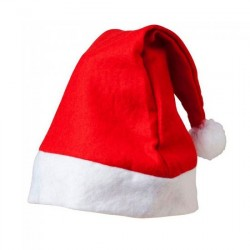 Felt Christmas Adult Santa Hat