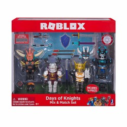 ROBLOX Days of Knight Mix Figure Set 16 Pieces Multi Pack Playset