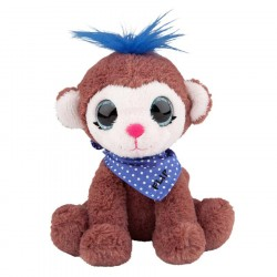 Snukis 18cm Plush Flip the Monkey