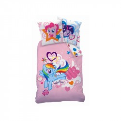 My Little Pony Pussilakanasetti Bed linen 140 x 200 cm, 63 x 63 cm