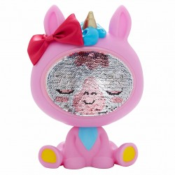 The Zequins Lumini Pink Unicorn Doll With Sequins