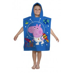 Peppa Pig George Double Sided Hooded Towel Poncho 115*50cm