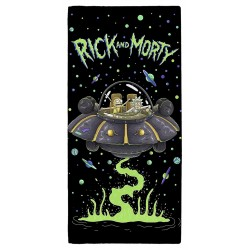Rick and Morty UFO Pyyhe Rantapyyhe Beach Towel 140*70 cm