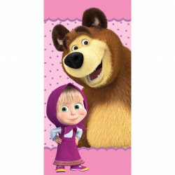 Masha And The Bear Kids Towel 140*70 cm 13403