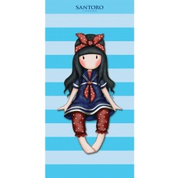 Gorjuss Santoro Kids Bath Towel 140*70cm Blue
