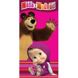 Masha And The Bear Kids Towel 140*70 cm