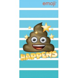 Emoji Poop Kids Bath/Beach Towel 140*70 cm
