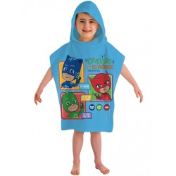 Pj Masks Calling All Heroes Double Sided Hooded Towel Poncho 115*50cm