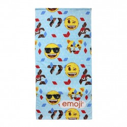 Emoji Kids Fast Drying Microfiber Beach Towel Kids
