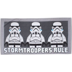 LEGO® Star Wars Villains Stormtroopers Pyyhe Rantapyyhe 140x70cm